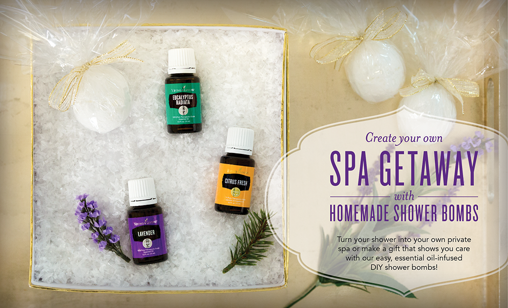 create your own spa getaway with homemade shower bombs the oily guru. Black Bedroom Furniture Sets. Home Design Ideas