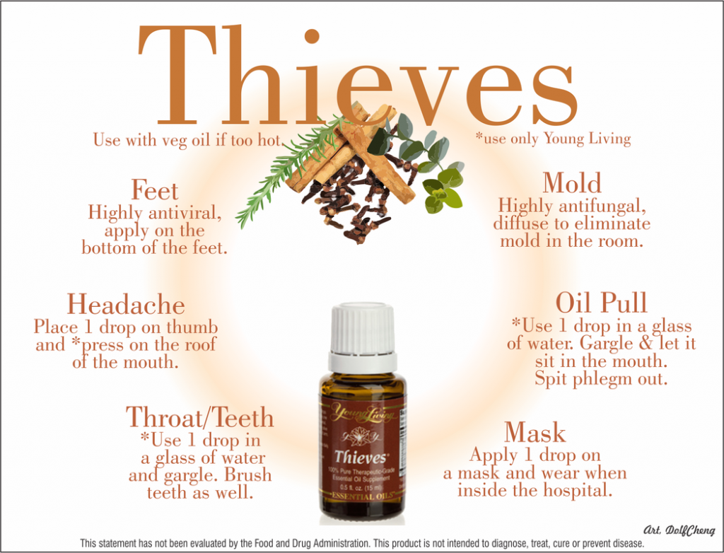 25 Simple Ways To Use Thieves Essential Oil The Oily Guru