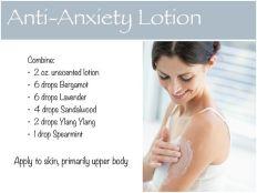anti anxiety lotion