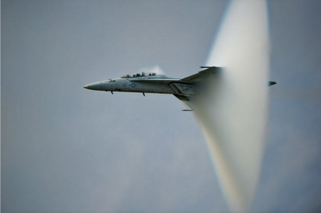 The 100 best photographs ever taken without photoshop - Breaking the sound barrier