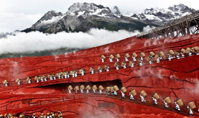 The 100 best photographs ever taken without photoshop - Yunnan, China