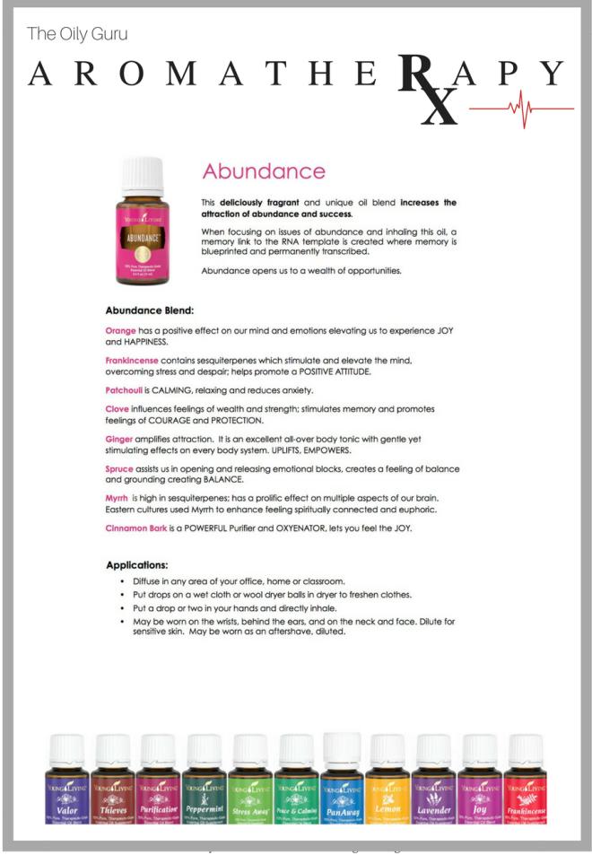 AROMATHERAPY Abundance